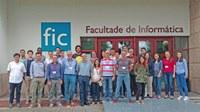 """A Facultade de Informática da Universidade da Coruña acolleu esta semana a """"Summer School on Quantitative Methods for Risk Management in Finance and Insurance"""""""